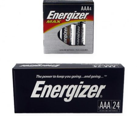 ENERGIZER AAA ALKALINE (E92)